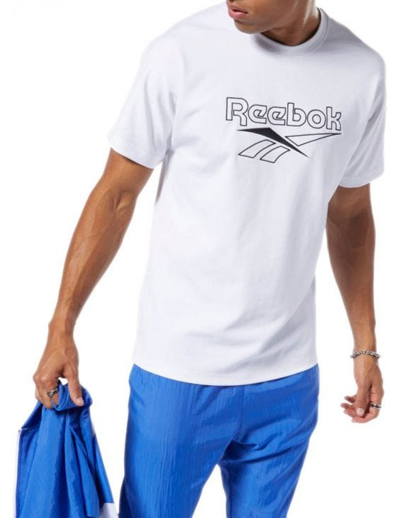 REEBOK OVER CAMISETA BLANCA