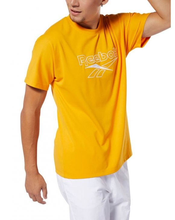T-SHIRT CLASSIC VECTOR IN YELLOW