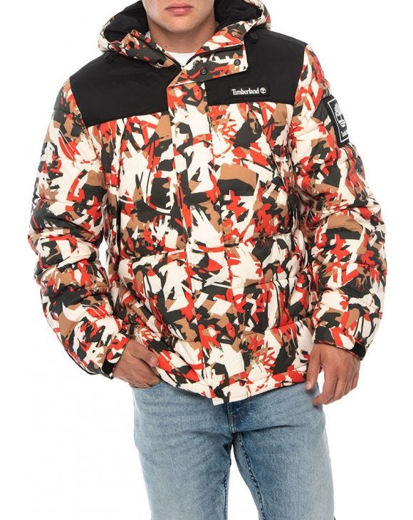 O-A PUFFER JACKET IN CAMOUFLAGE