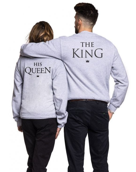 KING AND QUEEN SWEAT-SHIRT