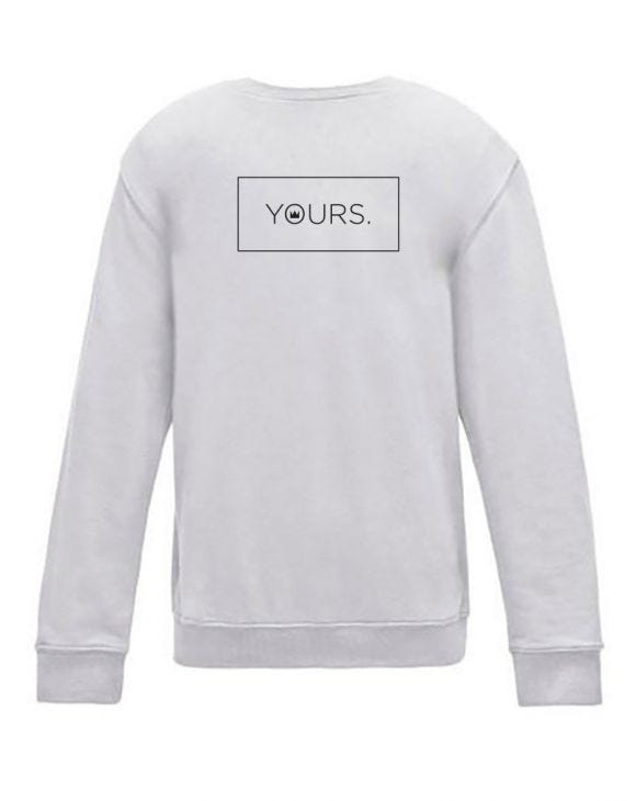 YOURS SUDADERA GRIS