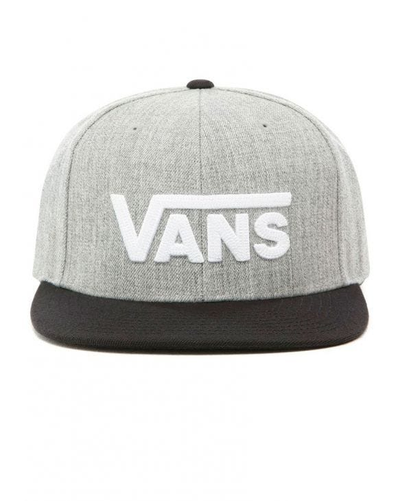 MN DROP V II SNAPBACK IN GREY AND BLACK