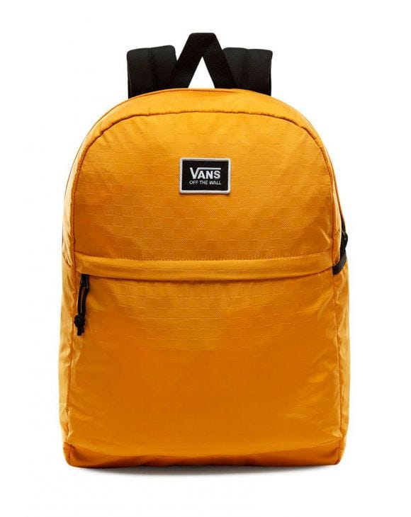 PEP SQUAD BACKPACK IN MUSTARD