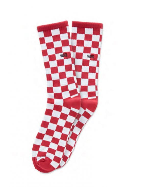 MN CHECKERBOARD CREW II RED-WHITE CHECK