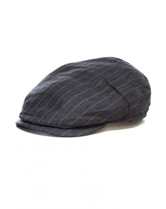 LINEN CAP IN DRESS GREY